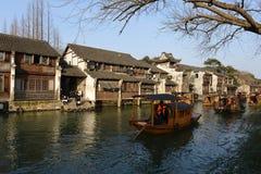 Wuzhen镇风景在浙江,中国 库存图片