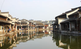 Wuzhen. The spring of Wu town Stock Photo