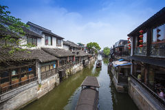 Wuzhen royaltyfri foto