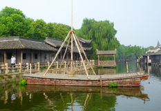 Wuzhen ancient town construction Stock Image