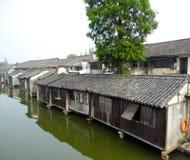 Wuzhen ancient town houses Stock Photo