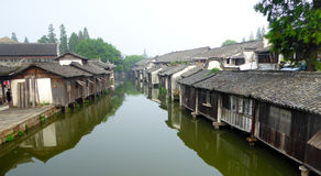 Wuzhen ancient town view Royalty Free Stock Photography