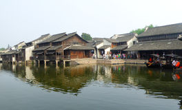 Wuzhen ancient town view Stock Images