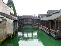 Wuzhen budynki Zdjęcia Royalty Free