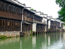 Wuzhen buildings Stock Images