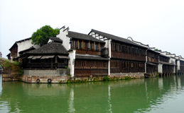 Wuzhen buildings Stock Photography