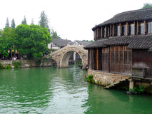 Wuzhen buildings Stock Photo