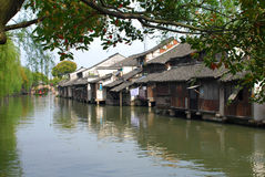 Wuzhen, China stock afbeeldingen
