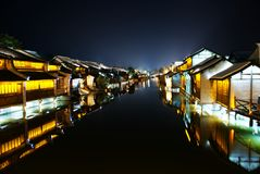 WuZhen of china Royalty Free Stock Image