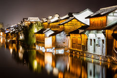 Wuzhen District Water Town Royalty Free Stock Photo
