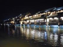 Wuzhen Kina 1 royaltyfri foto