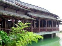Wuzhen le long couloir Images stock