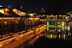 Wuzhen Na zachód Sceniczna strefa Fotografia Royalty Free