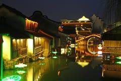 Wuzhen Na zachód Sceniczna strefa Fotografia Stock