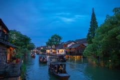 Wuzhen sławny antyczny miasteczko w Chiny Zdjęcie Stock
