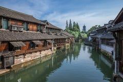 Wuzhen sławny antyczny miasteczko w Chiny Fotografia Royalty Free
