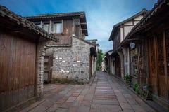 Wuzhen sławny antyczny miasteczko w Chiny Obraz Royalty Free