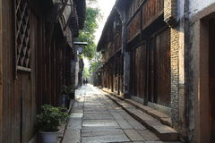Wuzhen sceneria Fotografia Stock