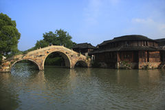 Wuzhen scenery Stock Image