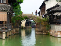 Wuzhen stone bridge Stock Image