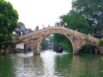 Wuzhen stone bridge Royalty Free Stock Photos
