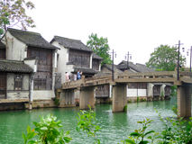 Wuzhen stone bridge Royalty Free Stock Image