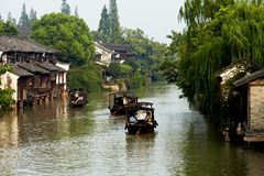 Wuzhen Town Stock Photo