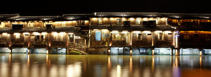 Wuzhen Town At Night Stock Image
