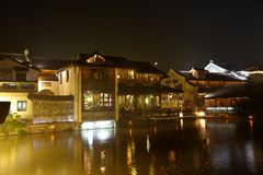 Wuzhen Town At Night 3 Royalty Free Stock Images