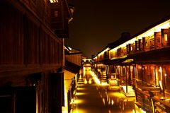 Wuzhen Town At Night 5 Stock Photos