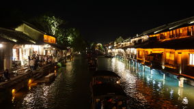 Wuzhen water village Royalty Free Stock Photography