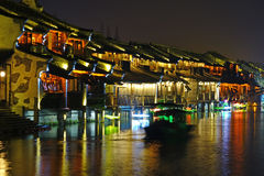 Wuzhen West Scenic Zone Stock Images