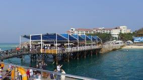 Wuzhizhou Island in Hainan Royalty Free Stock Images