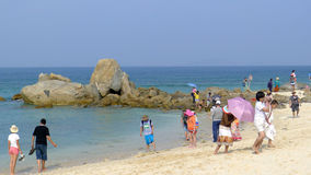 Wuzhizhou Island in Hainan Stock Photos