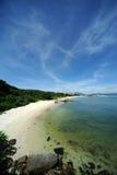 Wuzhizhou Island in Hainan Stock Image