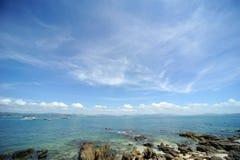 Wuzhizhou Island in Hainan Royalty Free Stock Image