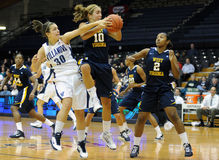 WVU All-Conference guard Liz Repella Royalty Free Stock Images
