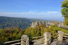 WVU Campus - Morgantown, West Virginia Stock Image