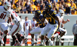 WVU defensive lineman Julian Miller Royalty Free Stock Photos