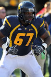 WVU lineman Quinton Spain Stock Image