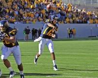 WVU quarterback Geno Smith - touchdown pass Stock Photography