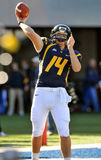 WVU quarterback Paul Millard Royalty Free Stock Photo