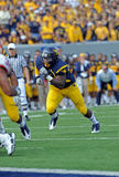 WVU running back Ryan Clarke Stock Image