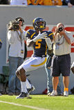 WVU wide receiver Ivan McCartney Royalty Free Stock Photography