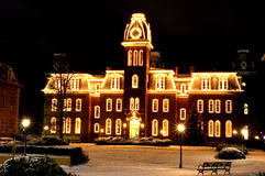 WVU Woodburn Hall Photo stock