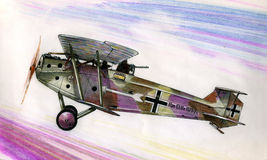 WW1 Αννόβερο CLIIIa Στοκ Φωτογραφία