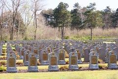 WW1 παγκόσμιος πόλεμος ένα του Βελγίου νεκροταφείο στο Depanne Στοκ εικόνα με δικαίωμα ελεύθερης χρήσης