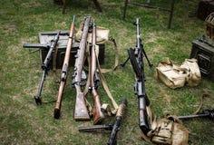 Ww2 πυροβόλα όπλα Στοκ Φωτογραφία