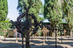 WW1, кладбище s военное стоковое изображение rf
