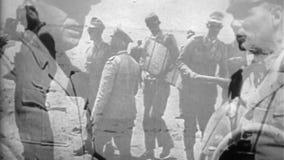 WW2 - Нацистские офицеры в Северной Африке видеоматериал